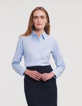 Ladies` Long Sleeve Classic Oxford Shirt
