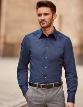 Men`s Long Sleeve Fitted Tencel® Shirt